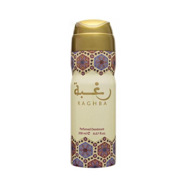 Lattafa Raghba Deodorant 200ml