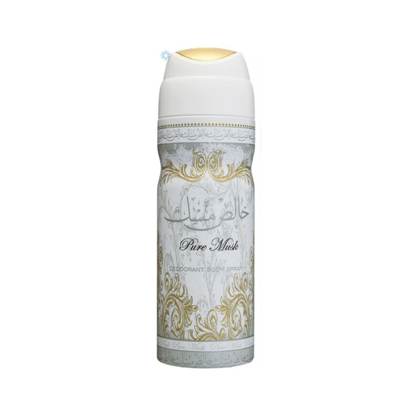 Lattafa Pure Musk Deodorant 200ml